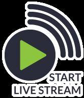 start live stream icon